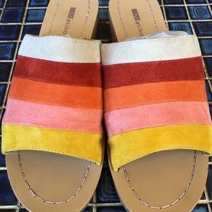 Radiant MATIKO Suede Sandals!